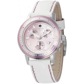 Pulseira de relógio Zodiac ZO2810 Couro Branco
