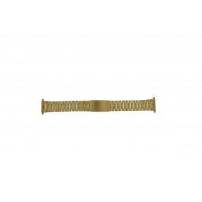 Morellato pulseira de relógio A02U03230250220099    Aço Dourado 18mm