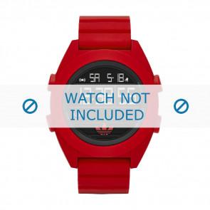 Adidas pulseira de relógio ADH2909 Silicone Vermelho 24mm