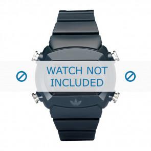 Adidas pulseira de relógio ADH6065 Silicone Azul 22mm
