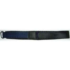 Bracelete em velcro em azul escuro 20 mm