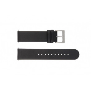 e719e846d4f Mondaine pulseira de relogio BM20001   FE16220.20Q Couro Preto 20mm