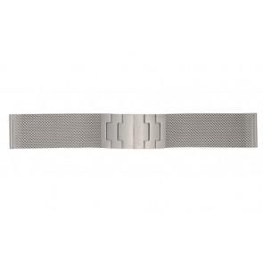 Mondaine pulseira de relogio BM20031 / 12622.ST.2 Metal Prata 22mm