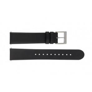 Mondaine pulseira de relogio BM20098 / FE16822.20Q.XL Couro Preto 22mm