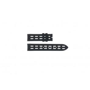 Breil pulseira de relogio BW0400 / F260053257 / F260053260 Borracha Preto 22mm