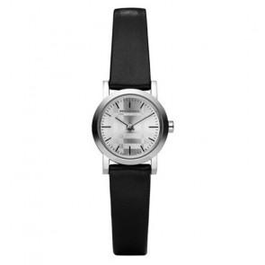 Pulseira de relógio Burberry BU1761 Couro Preto
