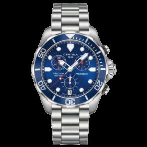 Certina pulseira de relogio C032.417.11.041.00 / C605019661 Metal Aço inoxidável