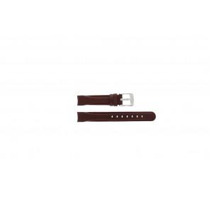 Camel pulseira de relogio 4000-4009 Couro Vermelho 14mm