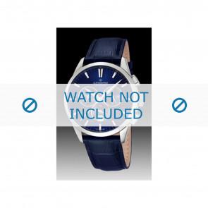 Candino pulseira de relogio C4517-3 Couro Azul + costura azul