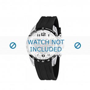 Pulseira de relógio Candino C4472 Borracha Preto 22mm