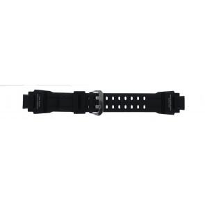 Casio pulseira de relógio GA-1000-1AV Silicone Preto 22mm