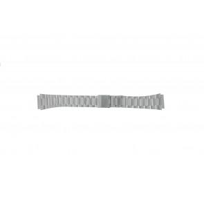Casio pulseira de relógio A158WEA-1EF Aço Prata 18mm