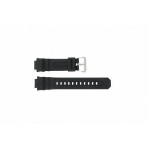 Casio pulseira de relógio AW-590-1A Borracha Preto 16mm