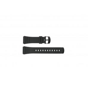 Casio pulseira de relógio DBC-32C-1BW Borracha Preto 22mm