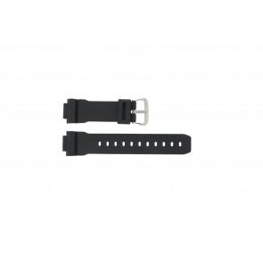 Casio pulseira de relogio DW-004C-1VST / DW-9051-DW-9052 / 71606395 Plástico Preto 16mm