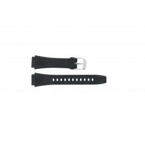 Pulseira de relógio EFA-124-1AVW / 10268556 Plástico Preto 20mm