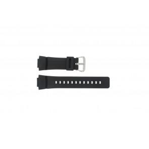 Casio pulseira de relogio G-100-1BV Silicone Preto 16mm