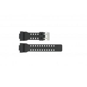 Casio pulseira de relogio G-8900-1 / GA-100-1 / GA-110 / GA-110MB / 10347688 Plástico Preto 16mm