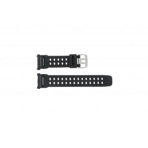 Pulseira de relógio G-9000-1 Silicone Preto 27mm