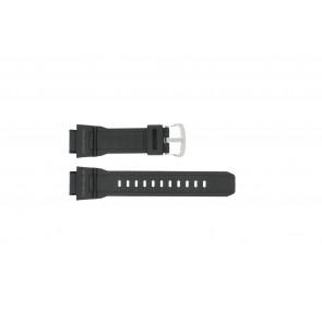 Casio pulseira de relogio G-9300-1 / 10388870 Silicone Preto 20mm