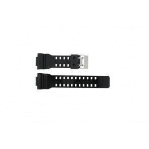 Casio pulseira de relógio GA-100CS-7A Borracha Preto 16mm