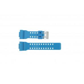 Pulseira de relógio Casio GD-110-2W / 10427892 Silicone Turquesa 16mm