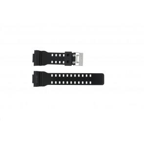 Pulseira de relógio Casio GLS-8900-1W / 10457909 Silicone Preto 16mm