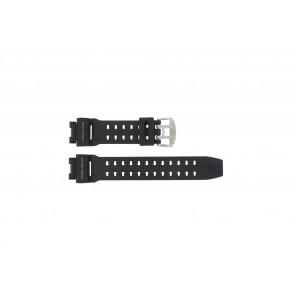 Pulseira de relógio GW-9110-1D / 10360284 Silicone Preto 16mm