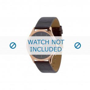 Calvin Klein pulseira de relogio K26215 Couro Marrom 19mm