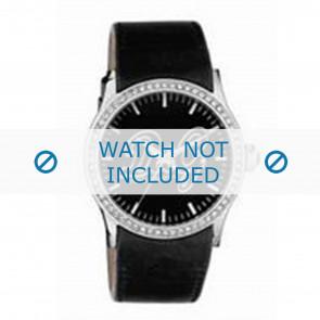 Dolce & Gabbana pulseira de relogio DW0267 Couro Preto
