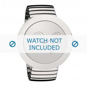 Dolce & Gabbana pulseira de relogio DW0280 Metal Prata