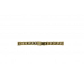 Morellato pulseira de relógio D0152025 Aço Dourado 14mm