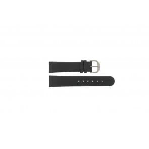 Danish Design pulseira de relogio IQ13Q672 / IQ12Q993 / DDBL20 Couro Preto 20mm