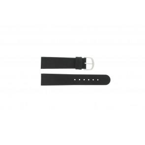 Pulseira de relógio Danish Design IQ13Q732 / IQ16Q672 Couro Preto 20mm