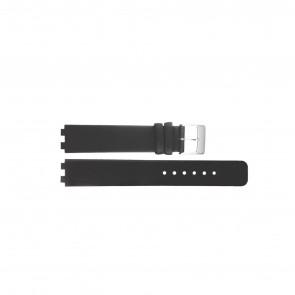 Danish Design pulseira de relógio IV12Q523 / IV13Q523 Couro Preto 12mm