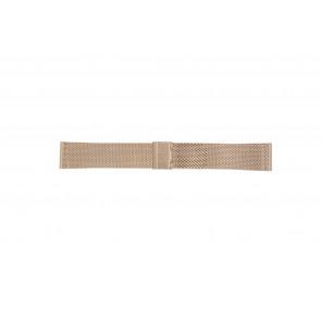 Davis pulseira de relogio BB0813 Metal Vinho rosé 24mm
