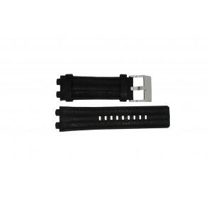 Diesel pulseira de relógio DZ-4118 Couro Preto 20mm