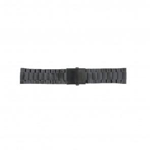 Diesel pulseira de relogio DZ4318 / DZ4283 / DZ4316 / DZ4355 / DZ4309 Metal Preto 26mm