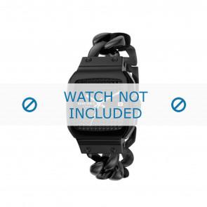Diesel pulseira de relogio DZ5181 Metal Preto 23mm