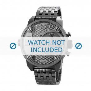 Diesel pulseira de relogio DZ7263 Metal Cinza antracite 24mm