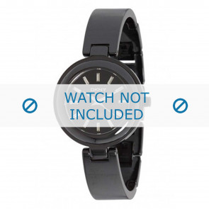 DKNY pulseira de relogio NY8549 Cerâmica Preto
