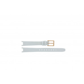 DKNY pulseira de relogio NY8784 Couro Branco 13mm + costura padrão