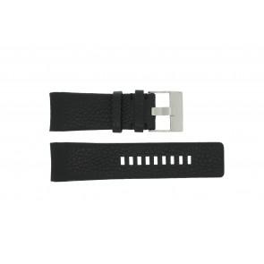dd7ae073969 Diesel pulseira de relógio DZ-4031   DZ4032   DZ 4028 Couro Preto 29mm