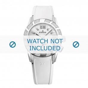Edox pulseira de relogio 62005 Silicone Branco