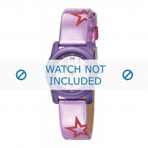 Esprit pulseira de relogio ES000FA4-40PA / 000FA4038 / 000FA4 Couro Roxo vermelho