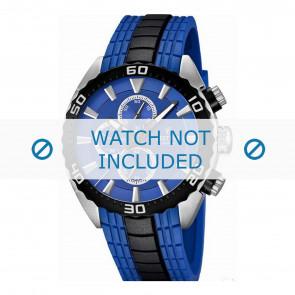 Festina pulseira de relogio F16664/6  Borracha / plástico Azul 23mm
