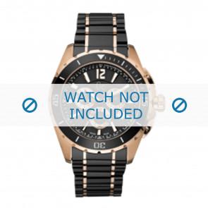 Guess pulseira de relogio GC55000G Cerâmica Preto