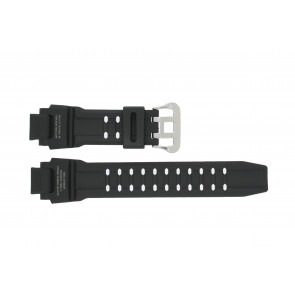 Pulseira de relógio Casio GW-4000-1AJ / 10397883 Borracha Preto 22mm