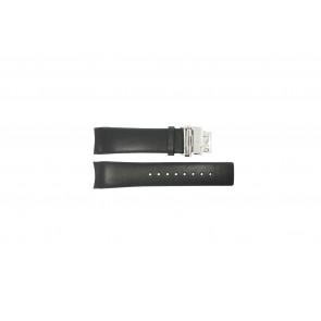 Calvin Klein pulseira de relogio K1V278 Couro Preto 22mm