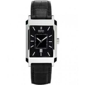 Pulseira de relógio Hugo Boss HB-47-1-14-2143 / HB659302142 / 15122352 Couro Preto 22mm